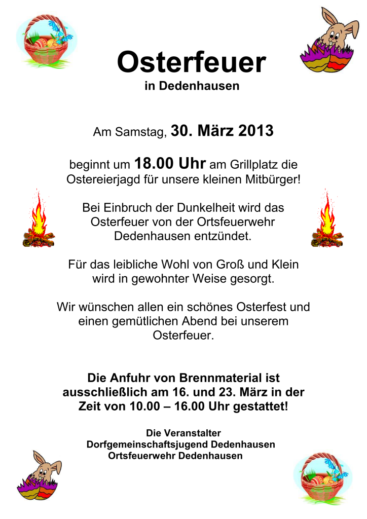 osterfeuer2013