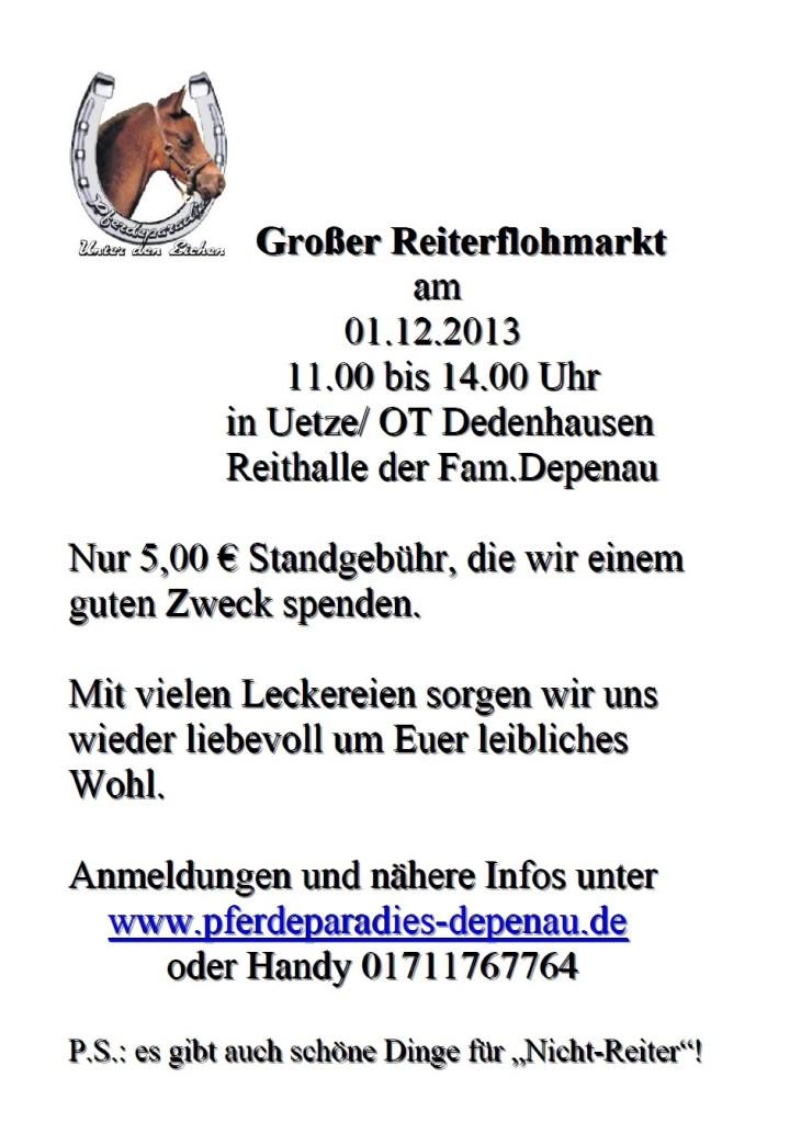 Reiterflohmarkt2013