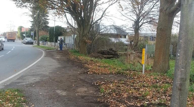 Fußweg-Sanierung